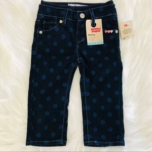 NEW Levi's Baby girls skinny jeans size 12M